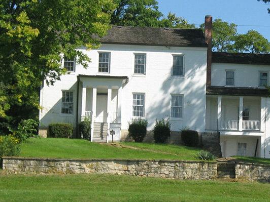 Hertzler House, Clark County, Ohio, site of recent archaeological excavation